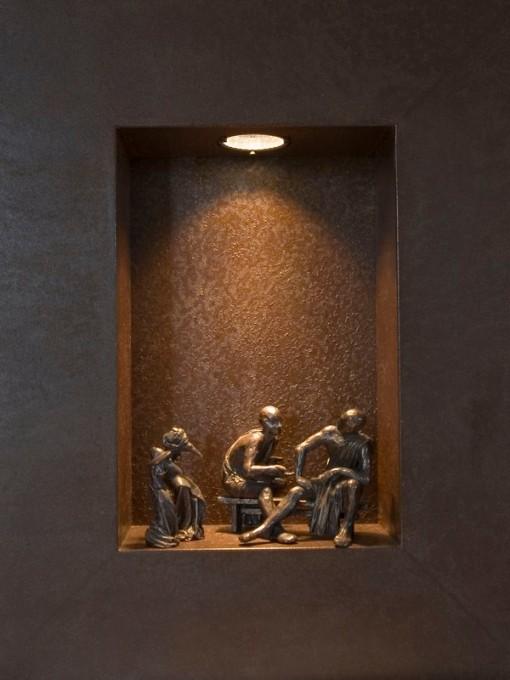 Esculturas en nichos - a.saxeo